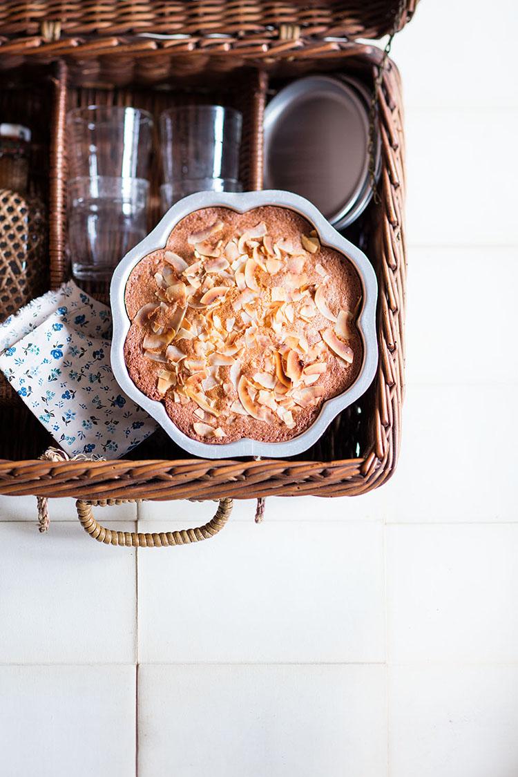 Photo de gâteau au yaout coco par Sophie Dupuis-Gaulier