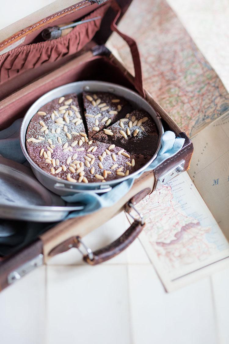 Photo de torta caprese par Sophie Dupuis-Gaulier
