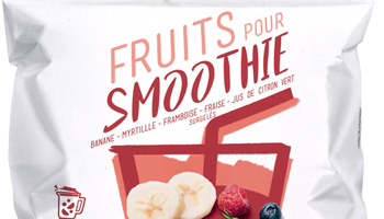 Photo de couverture du projet Fruits pour smoothie Picard