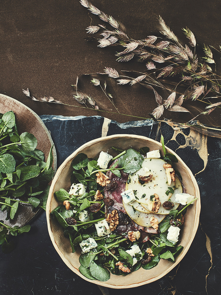 photo variations salade cresson