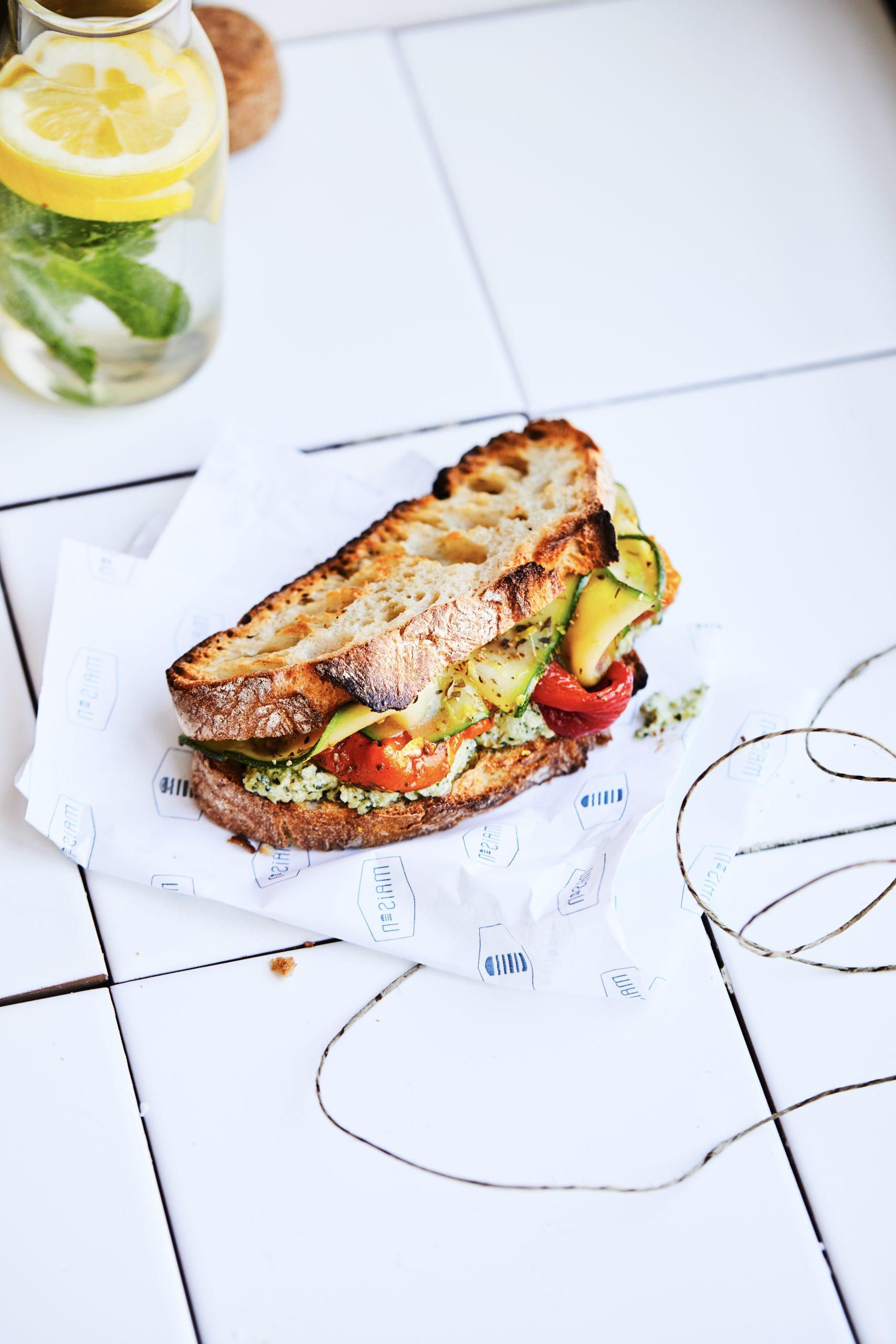 photo sandwich pain de campagne
